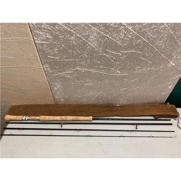 "Redington Dually 4pc - 10'9"" fly rod w/ soft case line #4"