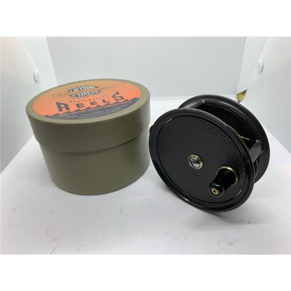 JW Young & Sons condex fly reel w/orginal box