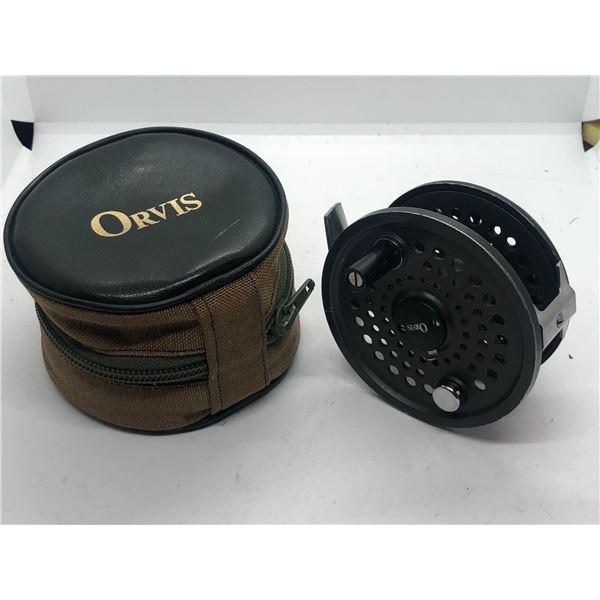 Orvis battenkill 8/9 fly reel w/case