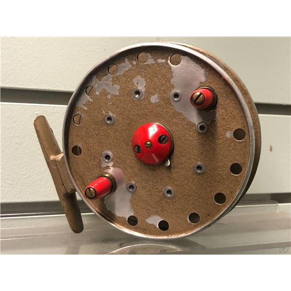 Grice & Young avon royal supreme center pin reel (line guide removed)