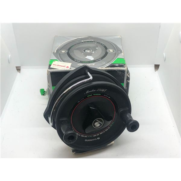 Shimano 200 GT mooching reel w/box