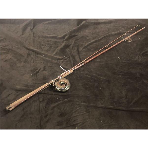 Daiwa agx 29 10ft salmon rod w/daiwa sg375 mooching reel