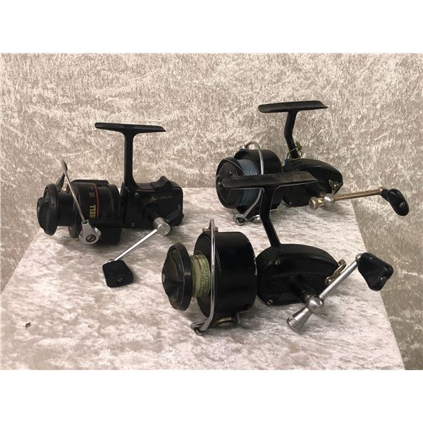 3 Vintage mitchell spinning reels