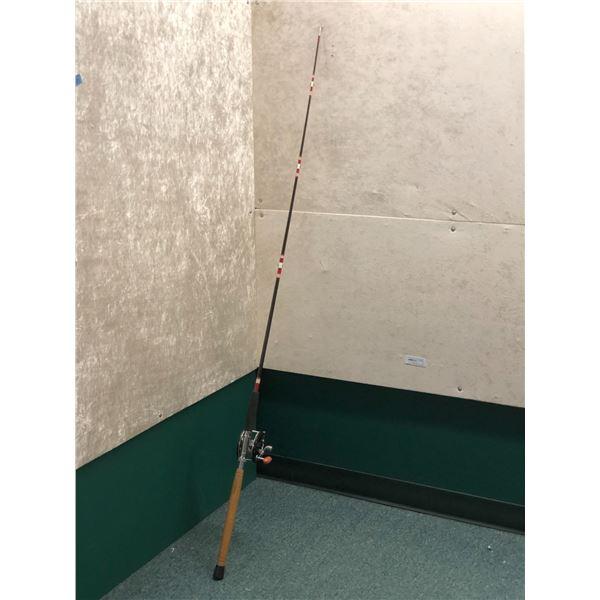 Shakespeare wonderglass halibut rod with Penn #149 deepsea reel 6ft