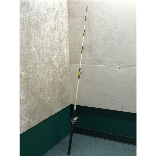 "Master custom striker halibut rod w/Penn #49 deep sea reel 6'4"""