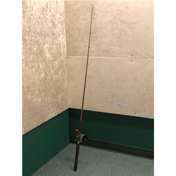 """Fenwick halitbut rod w/Penn long beach #65 reel 5'6"""""""