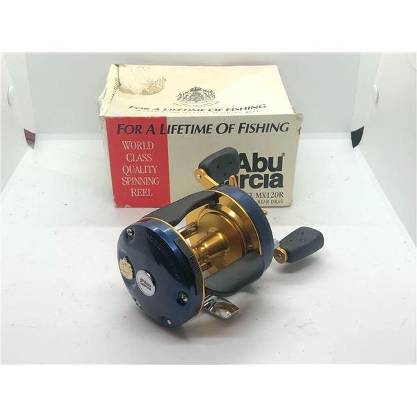 Abu Garcia ambassadeur model MX120R level wind reel w/orginal box