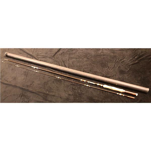 """Berkeley try-sport t40 - 8'6"""" fly rod #7 line w/case"""