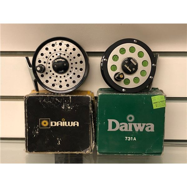 2 Vintage fly reels - Daiwa 231 & Daiwa 731A