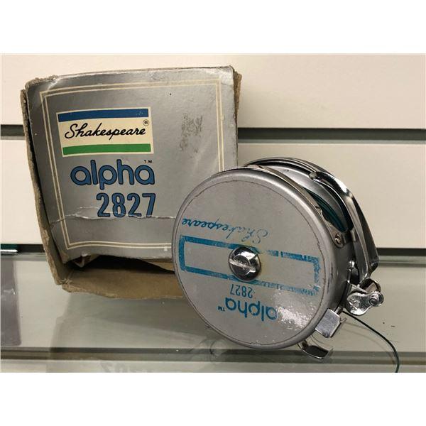 Shakespeare alpha 2827 auto. fly reel w/orginal box