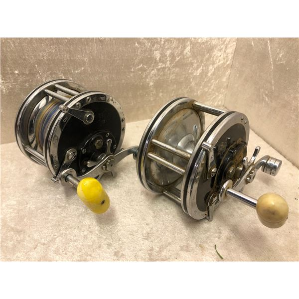 2 Penn level wind reels - #49 super mariner & deep sea #49