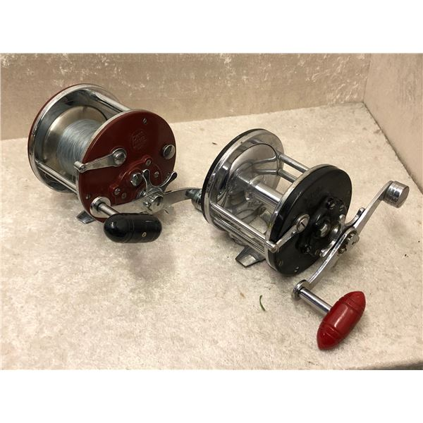 2 Penn level wind reels - longbeach #65 & #3309