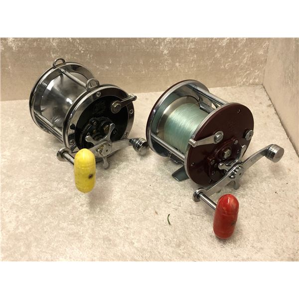 2 Penn level wind reels - #309 & 4/0 senator