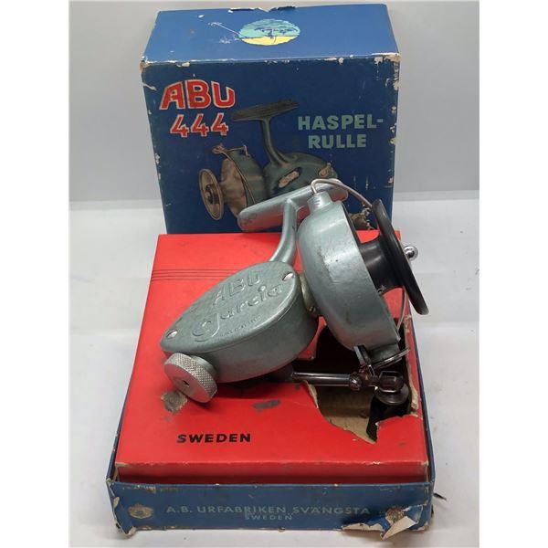 Antique Abu garcia spinning reel made in France w/orginal box