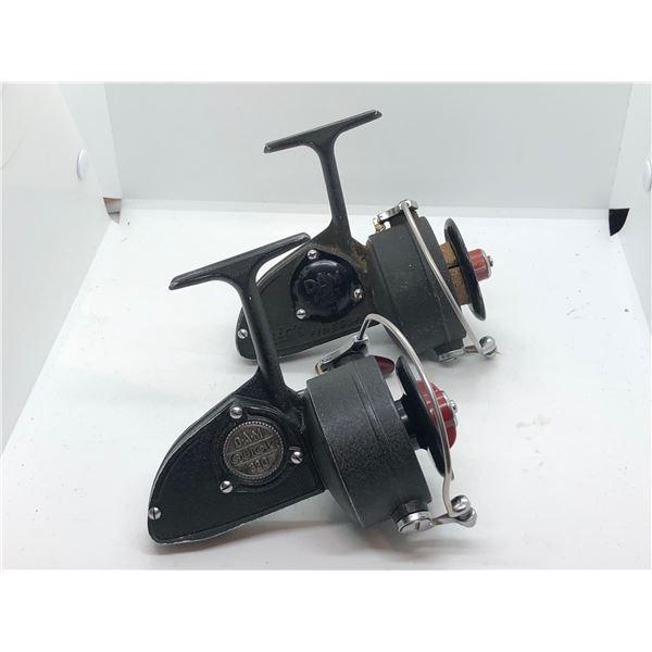 2 Dam quick vintage spinning reels - #330 & finessa