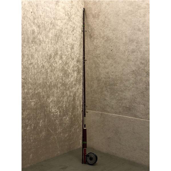 Berkley cherry wood fly rod w/ daiwa #233 reel