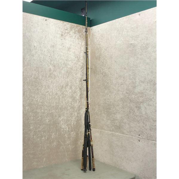 Bundle of 6 assorted fishing rod