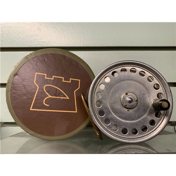"""Hardy Bros collectible """"St John"""" fly reel  w/box"""