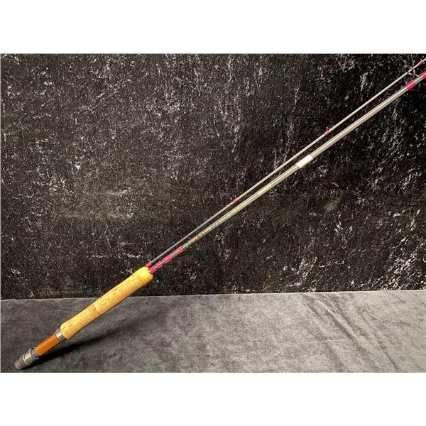 9ft Daiwa ossf 907 bk fly rod - made in Scotland w/ white rod tube