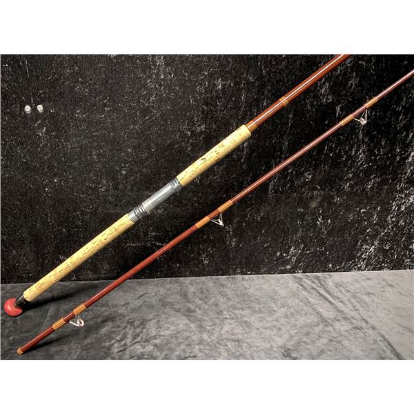 "Dina glass 70 custom built salmon rod 10'4"""