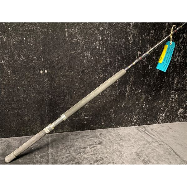 """Penn """"mariner stand up"""" 660 chst one pc. 6ft halibut rod"""