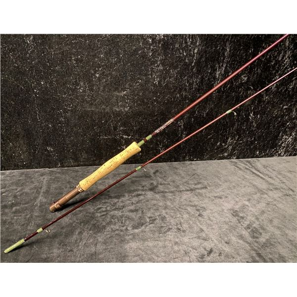 9.5ft G-Loomis custom built rod by Bayshore Custom Rods w/rod storage tube