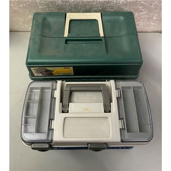 2 Plano tackle boxes
