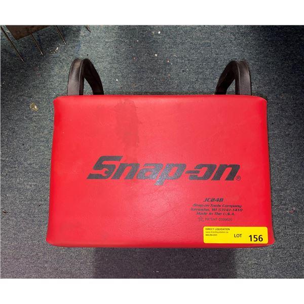 Snap-on mechanics rolling stool w/ single drawer