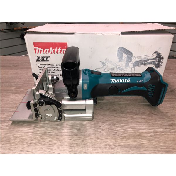 Makita XLT new in box cordless plate joiner (no charger no batteries)