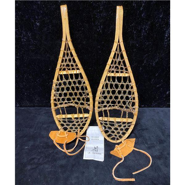Vintage LA Cheyenne hand crafted mini harness/mini snowshoes