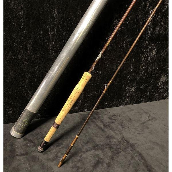 Fenwick gff858 2 pc fly rod 8 1/2 ft line WT #8 w/storage tube