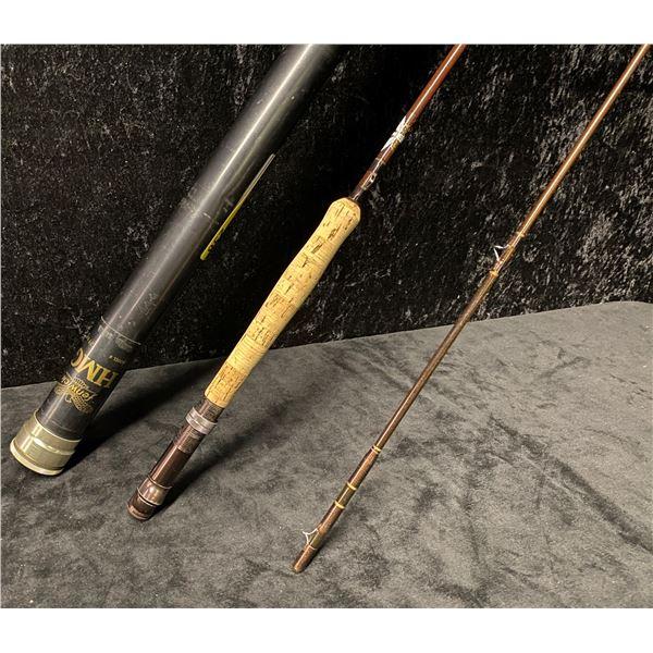 2 pc Fenwick p385955 8 1/2ft fly rod w/ storage tube