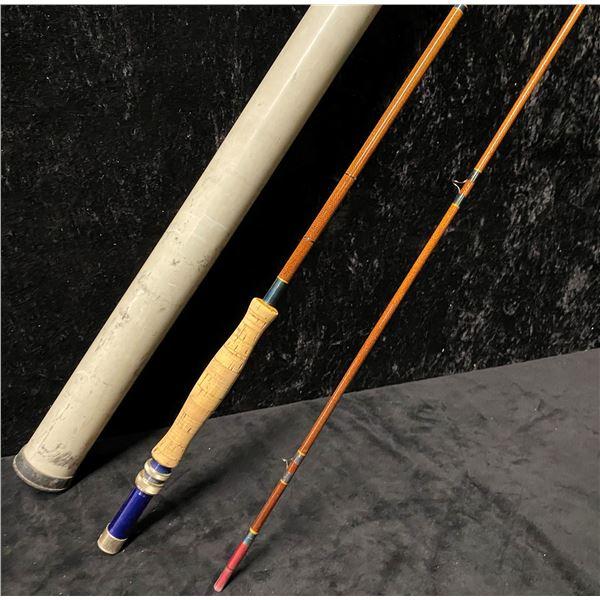 9ft custom built 2 pc fly rod w/ storage tube