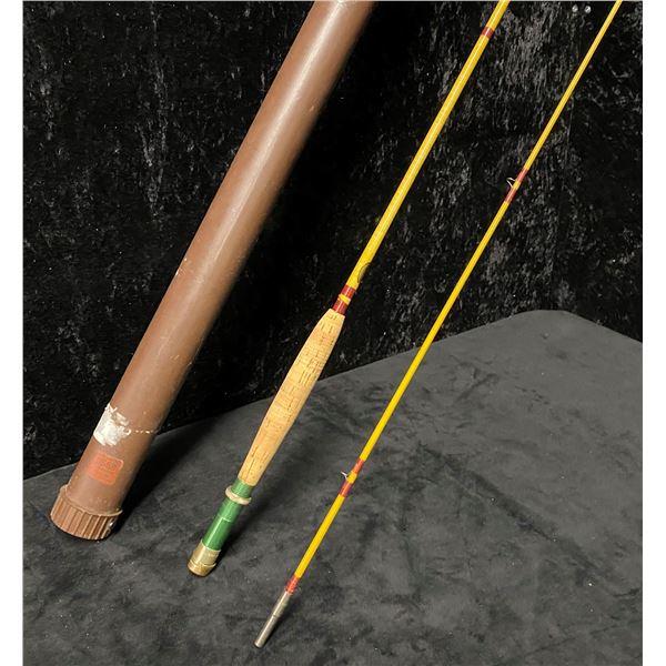 8ft 2pc (howald wonderod) by Shakespeare two pc fly rod w/ storage rod