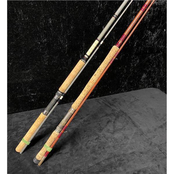 2 Salmon mooching rods - Berkeley & a custom built rod