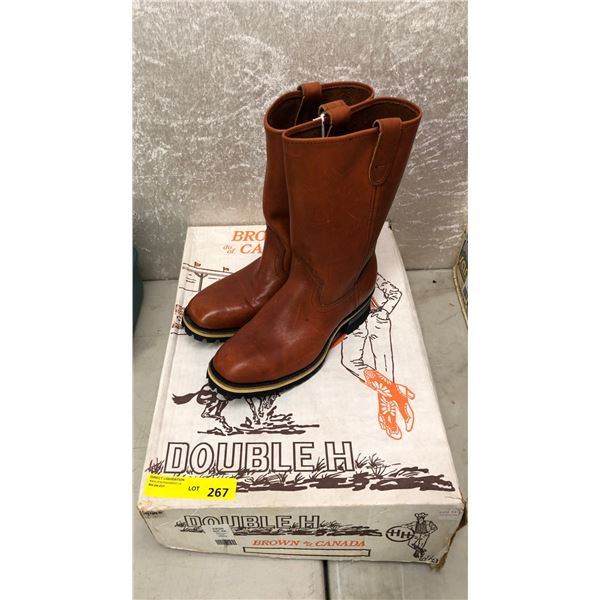 WH brown of Canada size 6 1/2 (NOS)