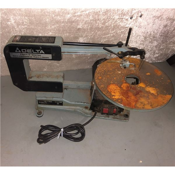 """Delta two speed 16"""" scroll saw"""