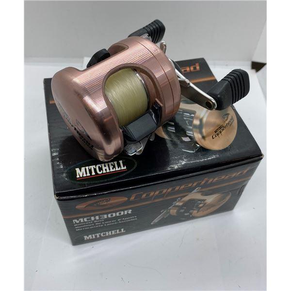 Mitchell copperhead 300R level-wind reel w/ box