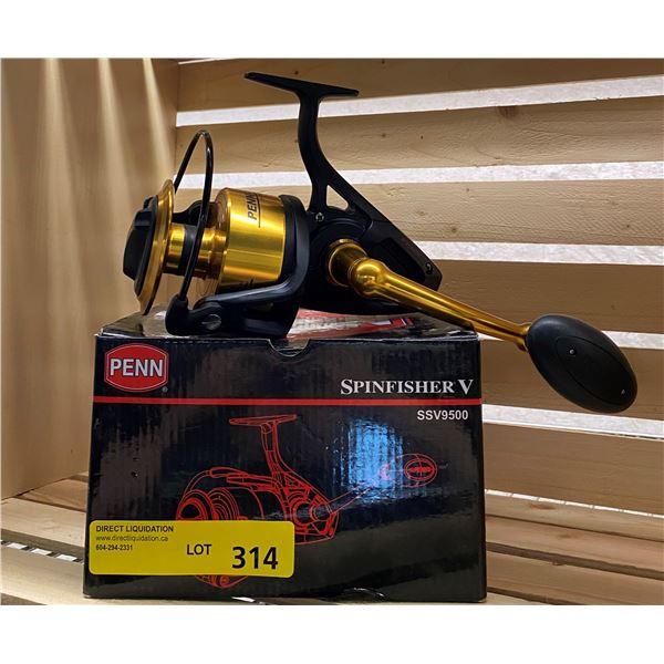 NEW Penn spinfisher V SSV9500 large spinning reel black & gold
