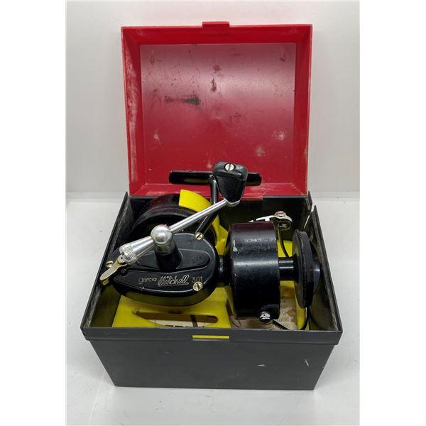Mitchell 301 spinning reel w/ box & extra spool