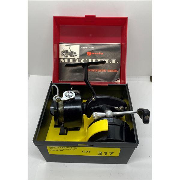 Mitchell 300 spinning reel w/ box & extra spool
