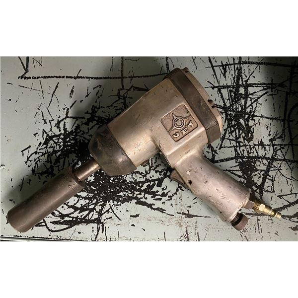 Jet pneumatic impact wrench