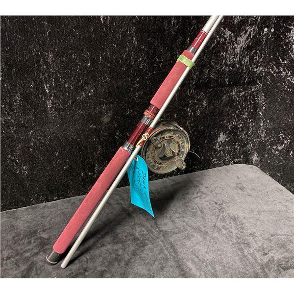Daiwa Stinger 7ft trolling rod w/ Daiwa SG375 mooching reel