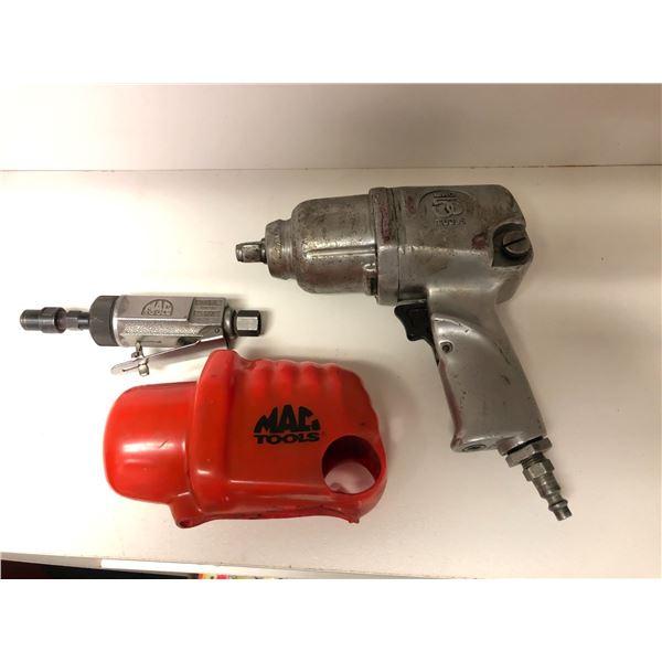 MAC 1/2in air impact & Mac mini dye grinder