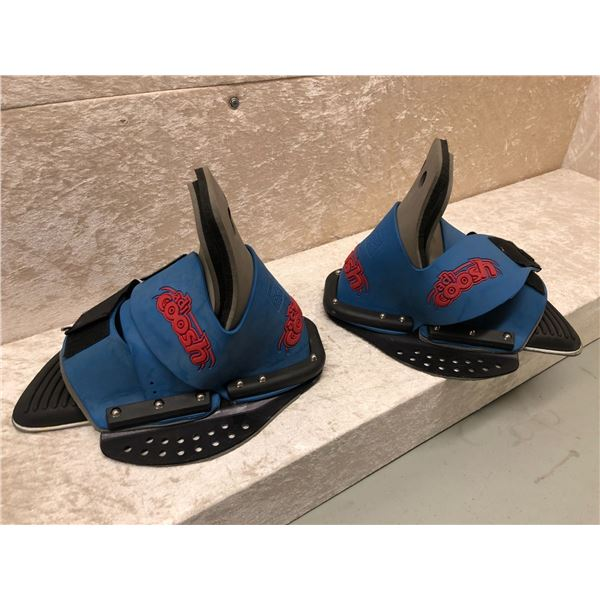 Pair of ADJ Coosh wakeboard boots