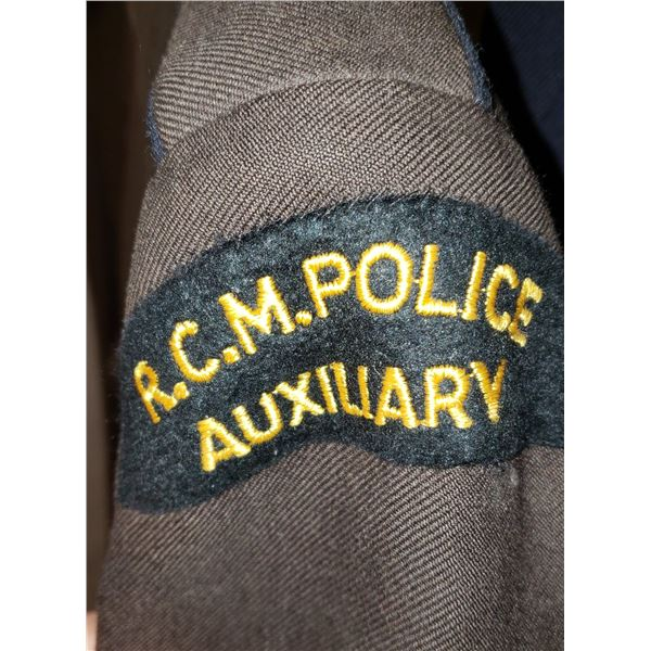 RCMP Auxiliary jacket with breeches