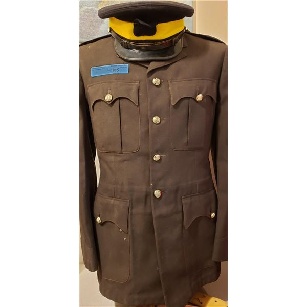 RCMP service tunic qualifications musical ride, pistols, rifles complete with shirt, pants, boots, t