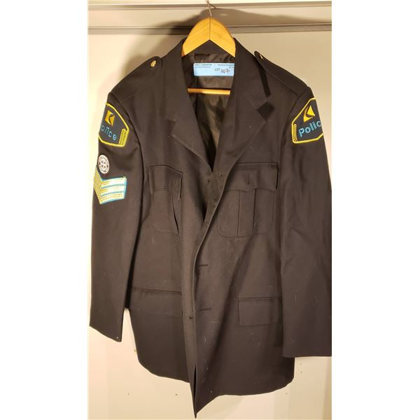 CP RAIL Canadian Pacific Railway police sergeant uniform tunic and no buttons
