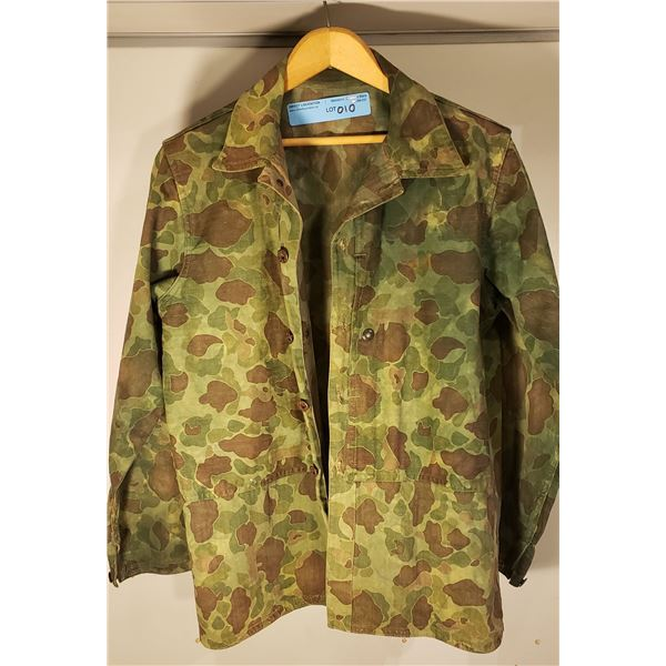 WWII American camouflage light jacket