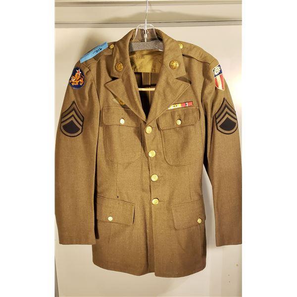 WWII US Army AIR CORPS China burma IKE HUMP jacket